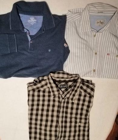 Koszule, kurtki Wrangler, Camel L/XL i...