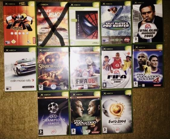 Jogos Retro - XBOX