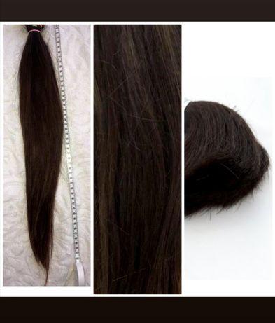 Włosy kitka brąz 54cm