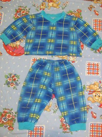 Пижама детская хлопок 12 мес