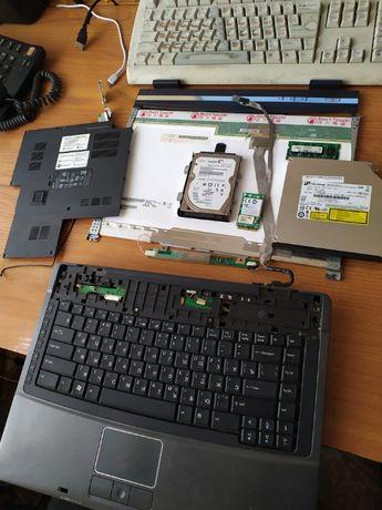 Продам по запчастям Ноутбук Acer TravelMate 5310