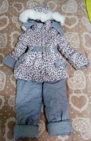 Зимний комбинезон+ курточка
