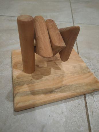 Горизонтальная пирамидка деревянная