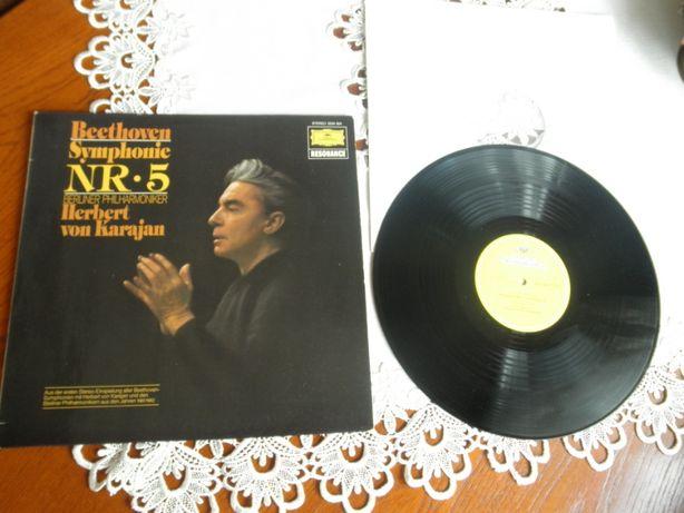 Beethoven, Berliner Philharmoniker, Herbert von Karajan. Symfonia 5 .