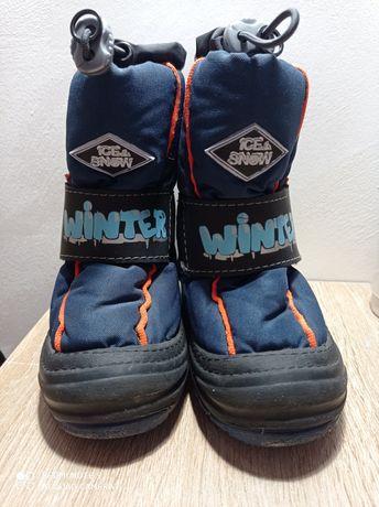 Зимові черевики Demar. Ботинки зимние.