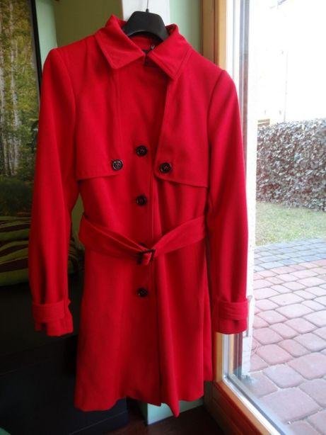 Płaszcz przejściowy wiosenny jesienny elegancki h&m r. 36