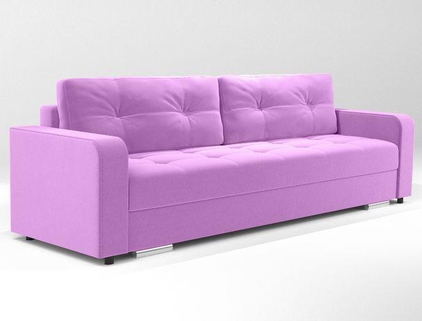 Kanapa sofa rozkładana pojemnik na pościel funkcja spania Dostawa