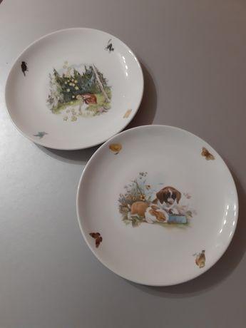 Две керамические тарелки (Чехия) ,торг