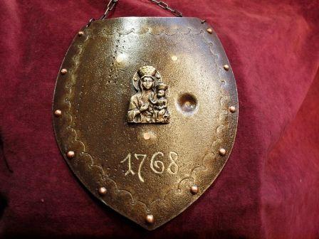 Ryngraf Konfederatów Barskich 1768 ze starej 200 l. blachy do szabel