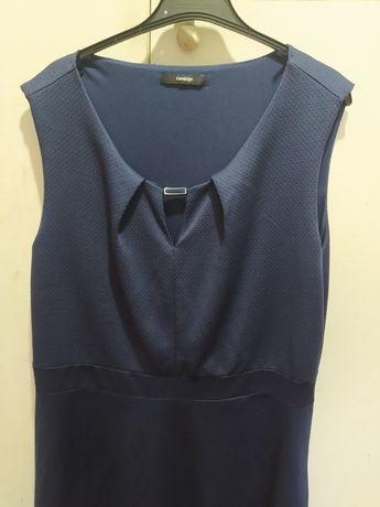 Sukienka granatowa xxl