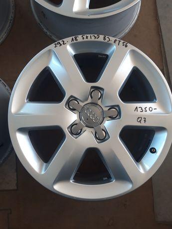 292 Felgi Aluminiowe ORYGINAŁ AUDI Q7 5x130 R18 Bardzo Ładne