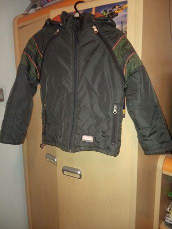 Zimowa kurtka/bezręk. chłopięca Quadri Foglio 2 w 1 r.128 cm i 146/152
