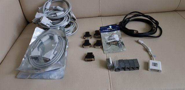 Kabel DVI, HDMI, RJ 45