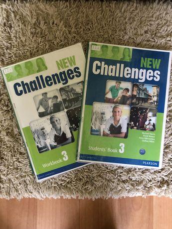 New Ghallenges 3 (книга+зошит)
