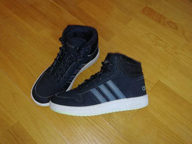 Ботинки хайтопы Adidas Hoops 35 размер