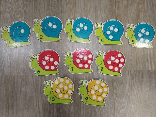 Развивающая игра ELC Snails and Spots