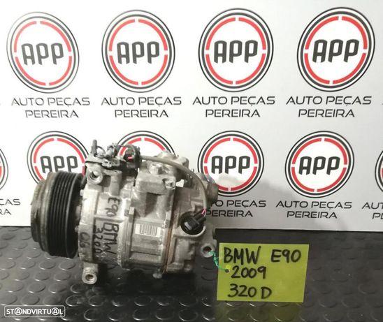 Compressor ar condicionado BMW E90 de 2009 referência 447260-1852.