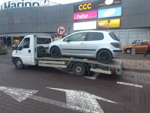 Uslugi transportowe Pomoc Drogowa Autolaweta