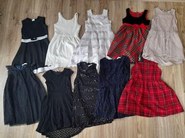 Sukienki na 134 i 140 Smyk, Reserved, H&M, 5.10.15
