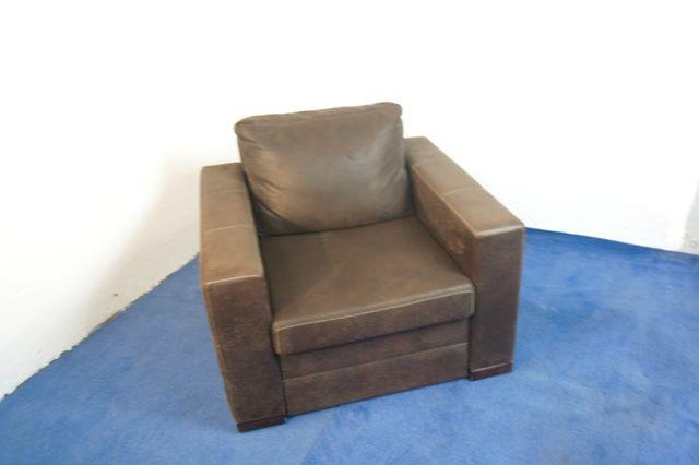 Fotel skórzany alcantara