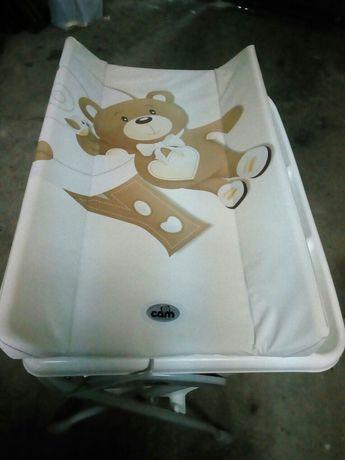 Пеленальный столик с ванной