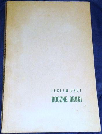 Boczne drogi - Lesław Gnot