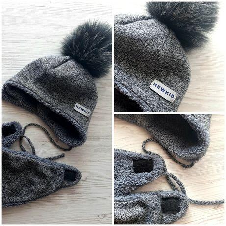 Зимняя шапочка на 10мес. -1,5 года