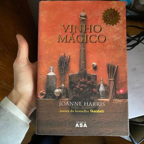 Livro de Joanne Harris O vinho mágico