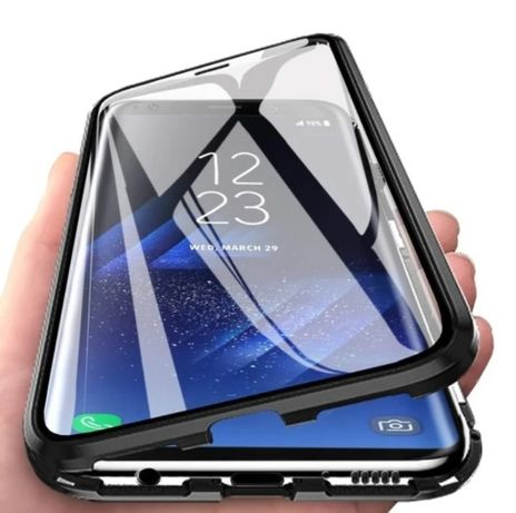 Магнитный чехол на Samsung S20 / S20 Plus / S20 Ultra / Note 10 Lite