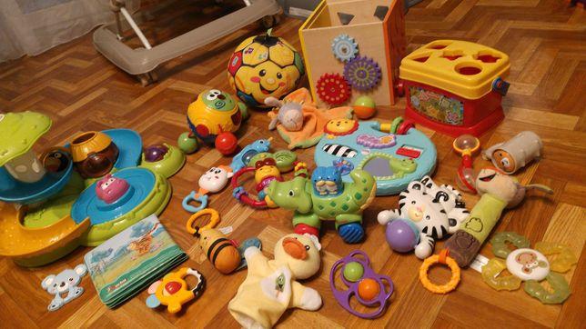 Zabawki niemowlęce zestaw
