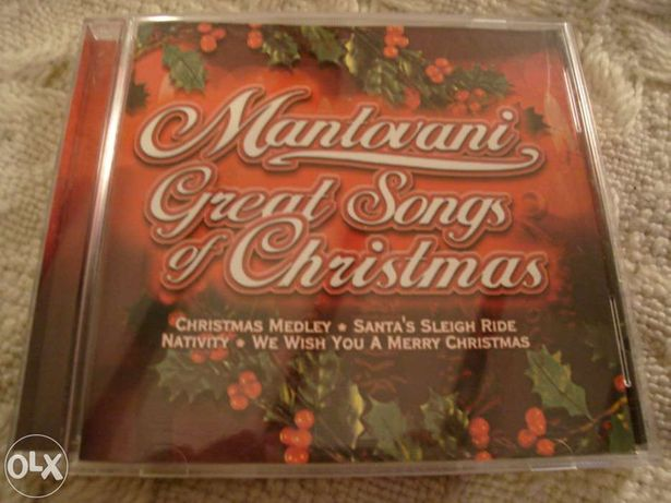 cd de mantovani great songs of christmas