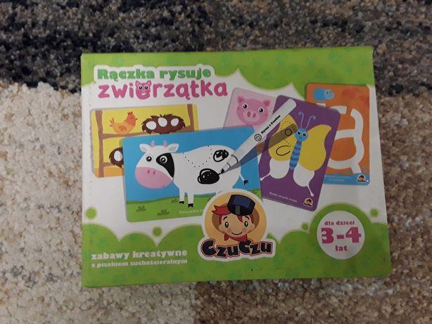 Zabawka kreatywna Rączka rysuje zwierzątka CzuCzu
