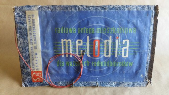"""Bezszumna antena KF na miejskie zakłócenia """"Melodia"""""""