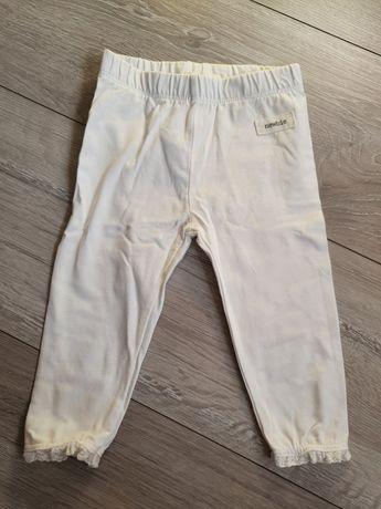 Białe legginsy newbie 68