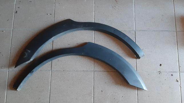 Накладка задніх арок chevrolet captiva 2007р