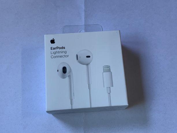 Słuchawki Apple Oryginalne EarPods A1748 Biale