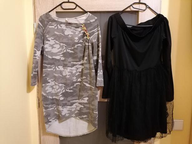 Sukienki. Damskie M :) Cena za 2 sukienki.