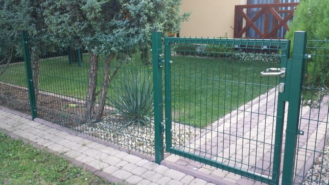Забор из сварной сетки, 3D забор, сетка рабица Калитки, Ворота Монтаж