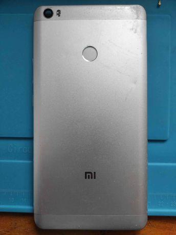 Крышка Mi Max корпус кнопки пластиковые сканер отпечатков пальцев