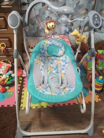 Кресло-качалка, шезлонг 3в1 CARRELLO Nanny