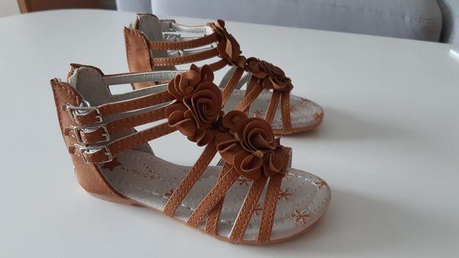 Sandałki sandały buty buciki wakacyjne letnie klapki bez palców