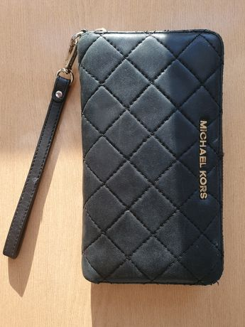 Duży portfel Michael Kors oryginalny czarny