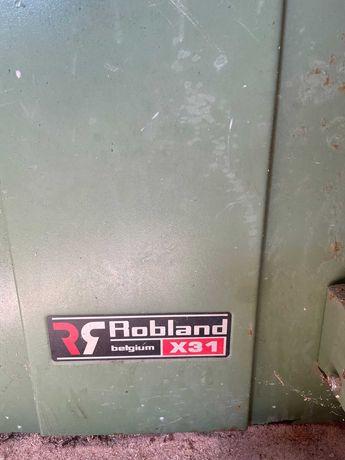Robland x31, wyciąg trocin Robland,  piła taśmowa Tenax