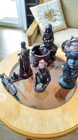 Figurki (afrykańskie kobiety) - różne rodzaje