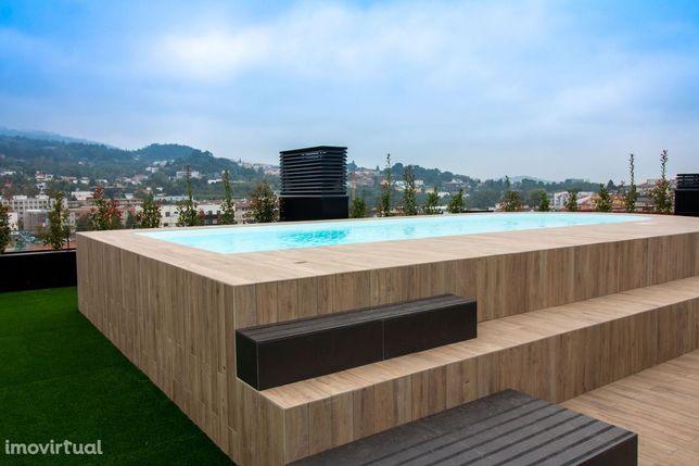 Apartamento T3 em Gualtar com piscina na cobertura