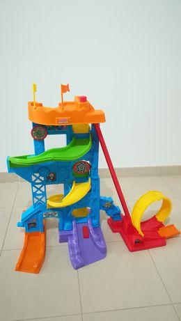 Pista carros LittlePeople Ficher-Price