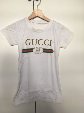 Tshirt z logiem GUCCI logowany