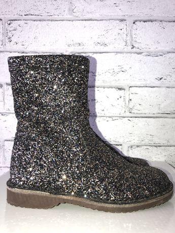 Ботиночки ботинки сапожки (zara,h&m)