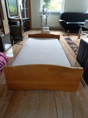Łóżko dziecięce z materacem 140×70 łóżeczko