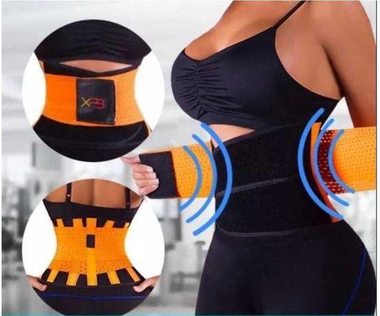 Пояс для похудения Power Belt на липучке для коррекции фигуры Размер L